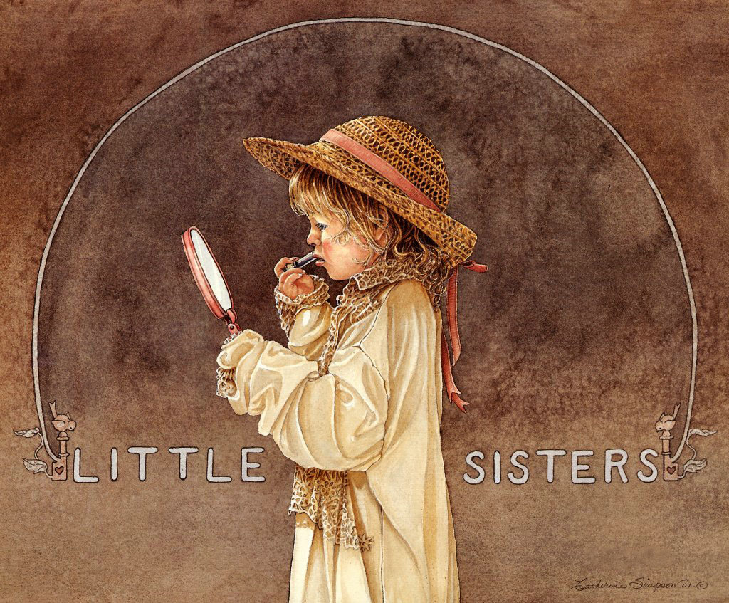 Catherine Simpson. Little Sisters.