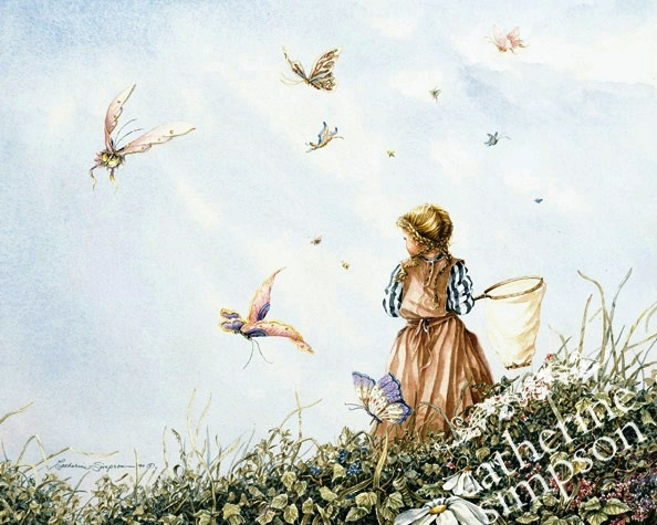 Catherine Simpson. Chasing butterflies.