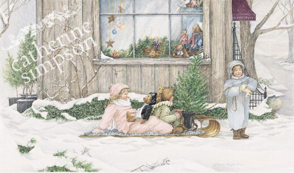 Catherine Simpson. Jingle bells.